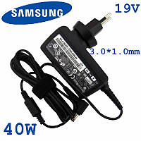 Зарядное устройство для ноутбука Samsung NP740u3e 19V 2.1A 40W 3.0*1.0mm