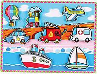 Рамка-вкладыш Viga toys Транспорт (56436)