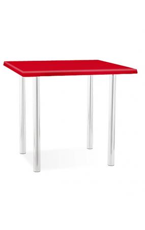Обеденный стол 80*80см (столешница верзалит)