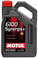 Масло моторное Motul 6100 SYNERGIE+ SAE 5W40 (4L) 838441 106020