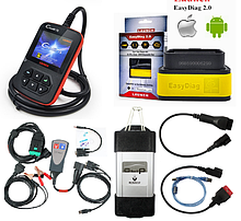 Автодиагностика (оборудование, кабеля, переходники)