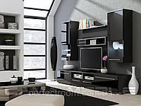 Стенка для гостиной Cama LUNA BLACK