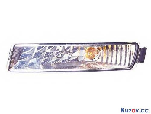 Указатель поворота в бампере Opel Movano 03-10 правый, белый (Depo) 4401906, фото 2