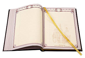 Дизайнерский сменный блок не датированный из мелованной бумаги для ежедневника формата А5