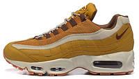 Мужские кроссовки Nike Air Max 95 Essential (найк аир макс 95) желтые