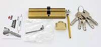 Cisa Astral 110мм 60х50 ключ/тумблер латунь (Италия)