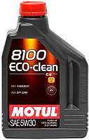 Масло моторное Motul 8100 ECO-CLEAN SAE 5W30 (2L) 841521 101543