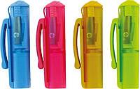 """Точилка для карандашей ( pencil sharpener ) с контейнером KUM """" Cap Sharpener Pop """""""