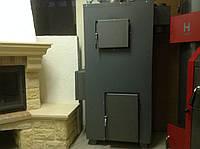 Котел пиролизный твердотопливный без обшивки 25 кВт