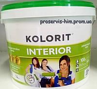 Краска для внутренних работ Колорит Интериор (Interior) 14кг 10л