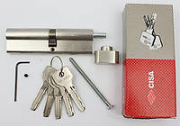 Cisa Astral 110мм 60х50 ключ/тумблер никель (Италия)