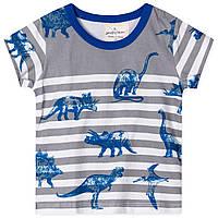 Футболка Синий динозавр