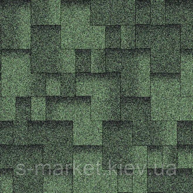 Акваизол Акцент Зелёная ЭКО Битумная черепица