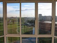 Остекление балкона холодной алюминиевой системой