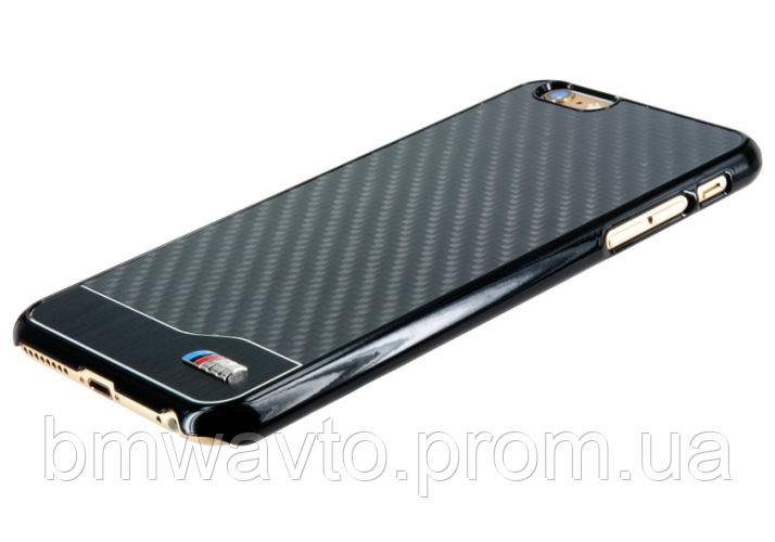 Крышка-чехол BMW iPhone 6 M-Collection Carbon & Aluminium Finish