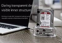 Прозрачная USB3.0 док станция для SATA HDD/SSD ORICO 6139U3