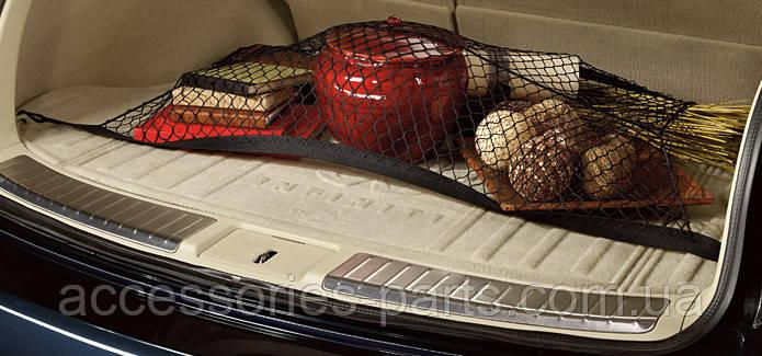 Сетка багажника горезонтальная  для Infiniti QX70 Новая Оригинальная