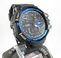 Часы Casio G-Shock GW-A1100 black/blue. Реплика ТОП качества!, фото 1