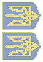 ФВМ-057. Схема для вишивки бісером на водорозчинному флізеліні