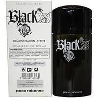 Тестер мужской туалетной воды Paco Rabanne Black XS