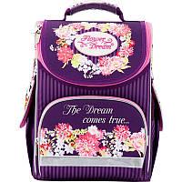 Рюкзак школьный каркасный 501 Flower dream K17-501S-1