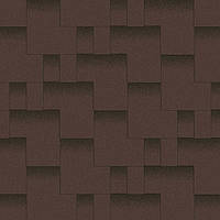 Битумная черепица Акваизол коллекция «Акцент» Горный каньон  (коричневый + чёрная тень), фото 1