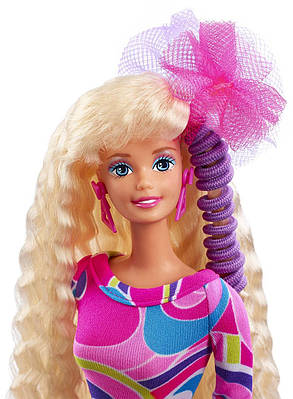Лялька Барбі Довге волосся Колекційна Barbie Totally Hair 25th Anniversary Doll, фото 2