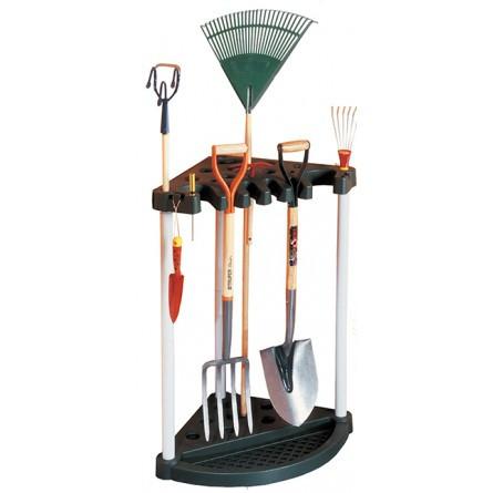 Угловой органайзер для садового инструмента Keter Corner Tool Rack