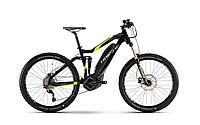 Велосипед HAIBIKE SDURO ALLMTN 5.0 400WH 2017, рама 48 см, ход:150 мм, черный