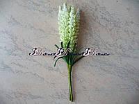 Добавка тычинка лаванда бело-салатовая