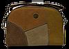 Небольшая женская сумочка DAVID DJONES на плечо цвета Camel DDP-028272