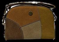 Небольшая женская сумочка DAVID DJONES на плечо цвета Camel DDP-028272, фото 1