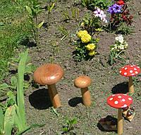 Дерев'яні грибочки .