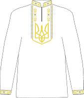 СВЮ-10. Заготовка для вишивки бісером Дитяча сорочка для хлопчика.