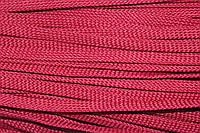 Шнур плоский 8мм (100м) бордовый , фото 1