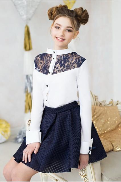 Школьная одежда для девочек: блузки, юбки, сарафаны