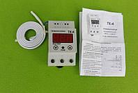 Терморегулятор цифровой DigiTOP ТК-4 (Hot÷Col) DIN-рейка / 16A / 3500W / T= -55°С...+125°С (нагрев-охлаждение)