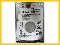 HDD 250GB 5400 SATA3 2.5 Hitachi HTS545025B7E660 WXT1AB6AJZJX