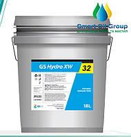 Гидравлическое масло GS Hydro XW 32 20л