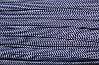 Шнур плоский 8мм (100м) т.синий , фото 1