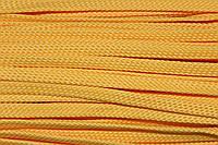 Шнур плоский 8мм (100м) желтый , фото 1