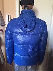 Куртка-пуховик мужская зимняя синяя Antony Morato, фото 3