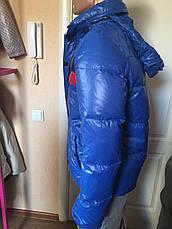 Куртка-пуховик мужская зимняя синяя Antony Morato, фото 2