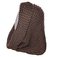 Шарф-хомут H15010 коричневый