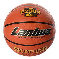 Мяч баскетбольный F 2304 (25шт) размер7,рисунок-печать,580-650г,в кульке