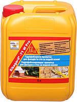 Защитное покрытие для фасадов Sikagard®-71 W Pro, 1 л, прозрачный