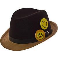 Шляпа фетровая детская FD16003 чёрный