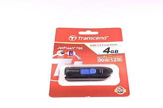 Флешка Transcend JetFlash 790 4GB, USB 2.0 Flash Driver (ВИДЕО И ФОТО НЕ ПОДДЕРЖИВАЕТ). Распродажа