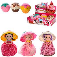 Очаровательная кукла кекс, без аромата.