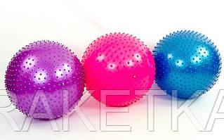 """Мяч для фитнеса """"ZELART"""" массажный d-75см."""
